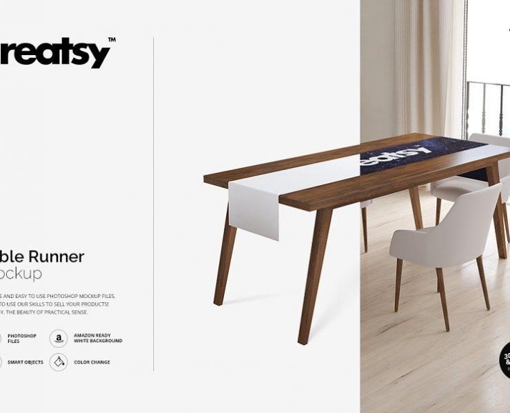 12+ Tablecloth Mockups PSD for Branding