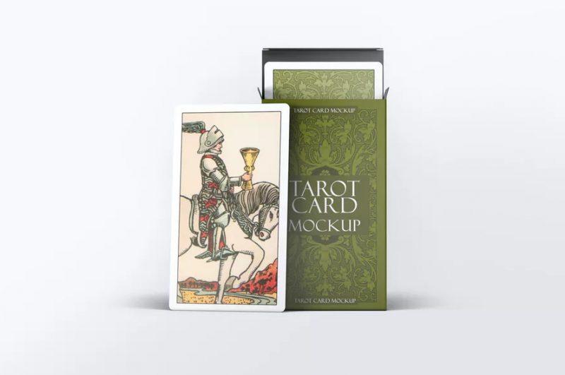 Tarot Card Mockup PSD