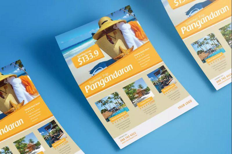 Tour Travel Flyer PSD