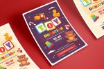 11+ Toy Drive Flyers Template PSD and Ai