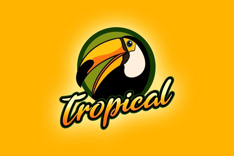 Tropical Birds Logo Templates