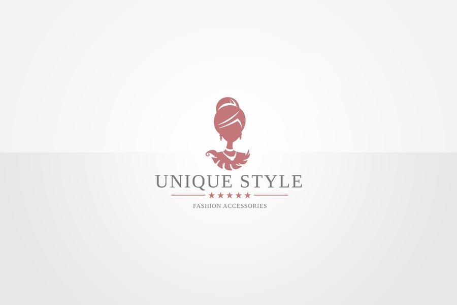 Unique Fashion Logo Idea