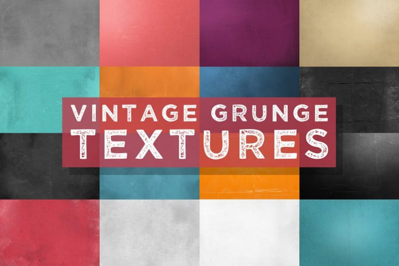 Vintage Grunge Textures PNG