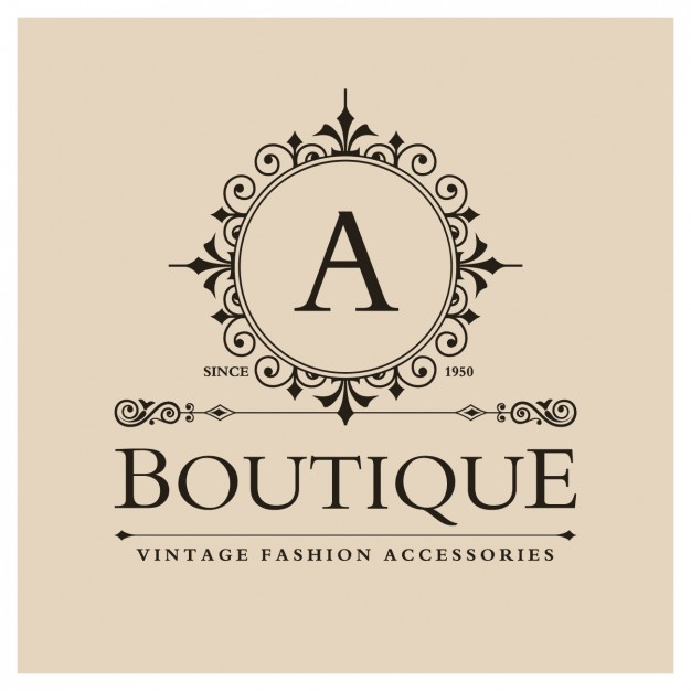 Vintage Boutique Logo Design
