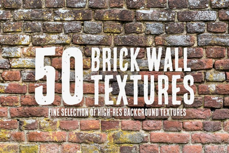 Vintage Brick Wall Design