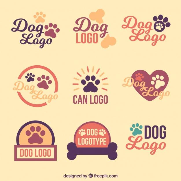 Vintage Dog Logo Design Ideas