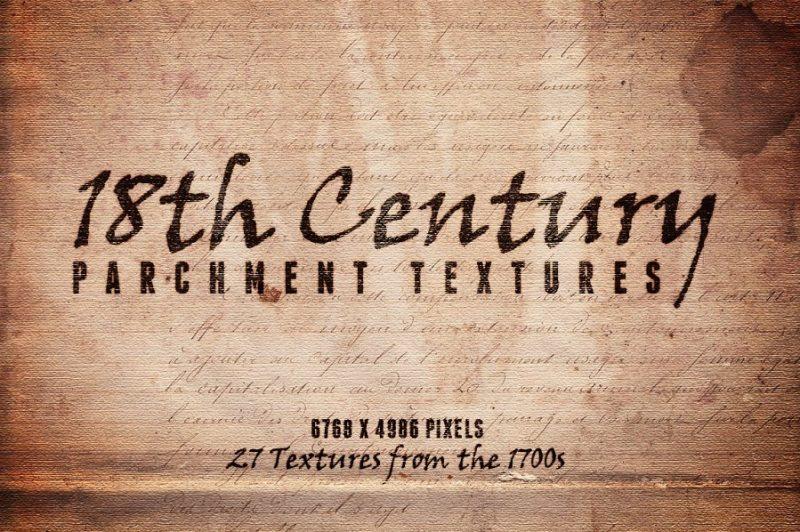 Vintage Parchment Textures PNG