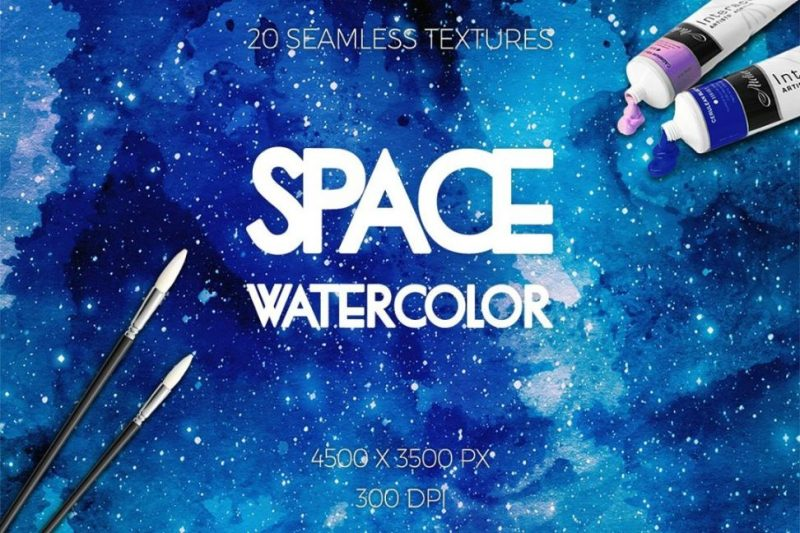 Water Color Seamless Textures