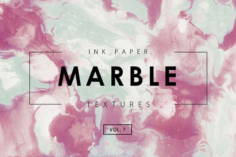 Watercolor Marble Textures Pack