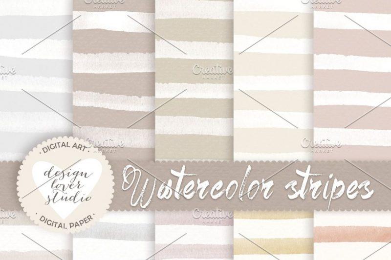 11 Watercolor Paper Textures Png Jpg Photoshop Graphic Cloud