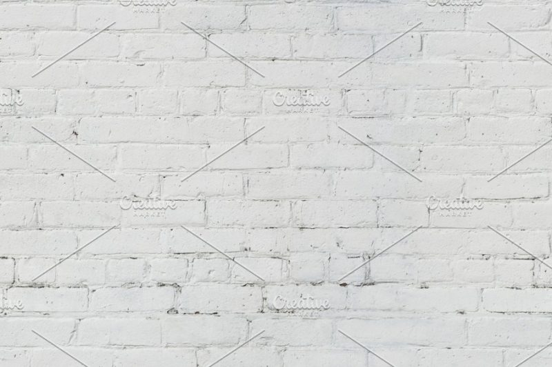White Brickwall Texture