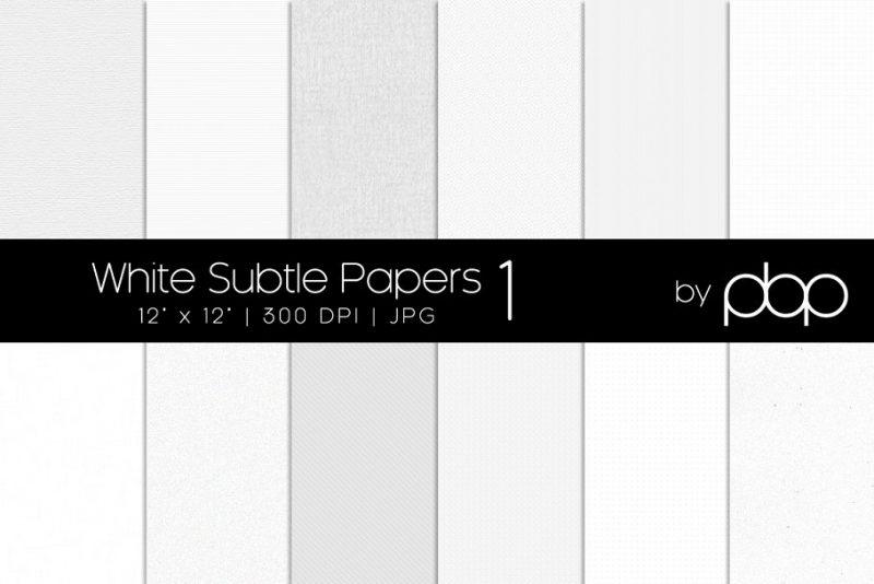 White Subtle Paper Textures