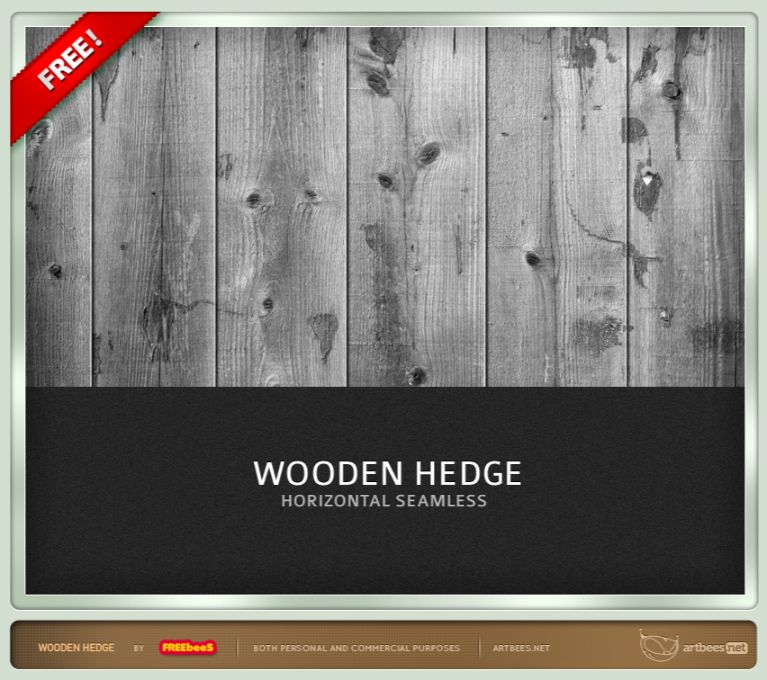 Wooden Hedge Textures Free