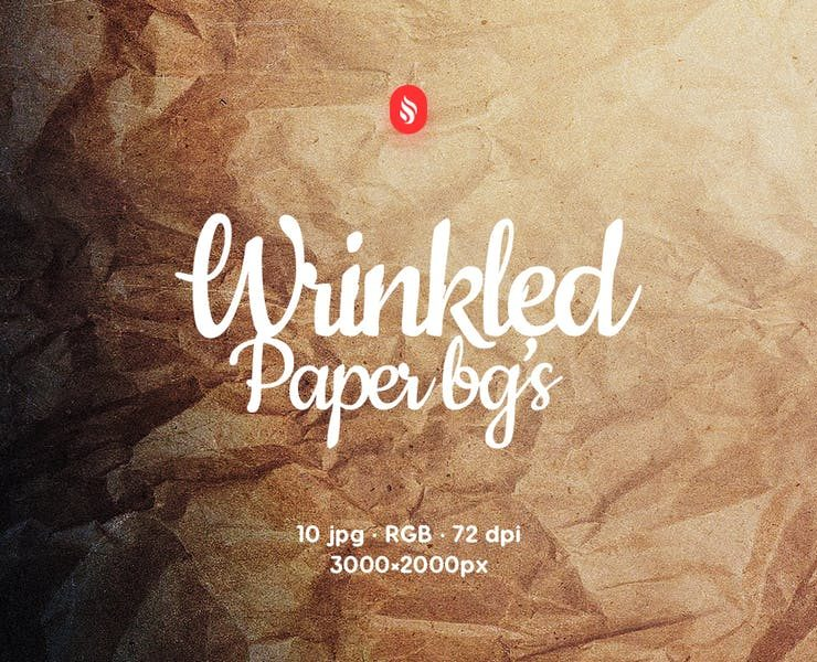 7+ Wrinkled Paper Textures for Design Presentation