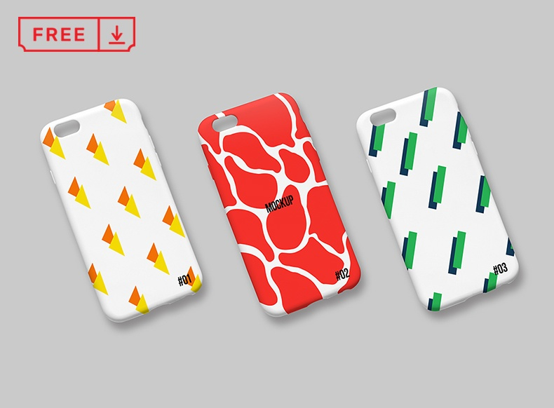 25+ Realistic iPhone Case Mockup PSD Free