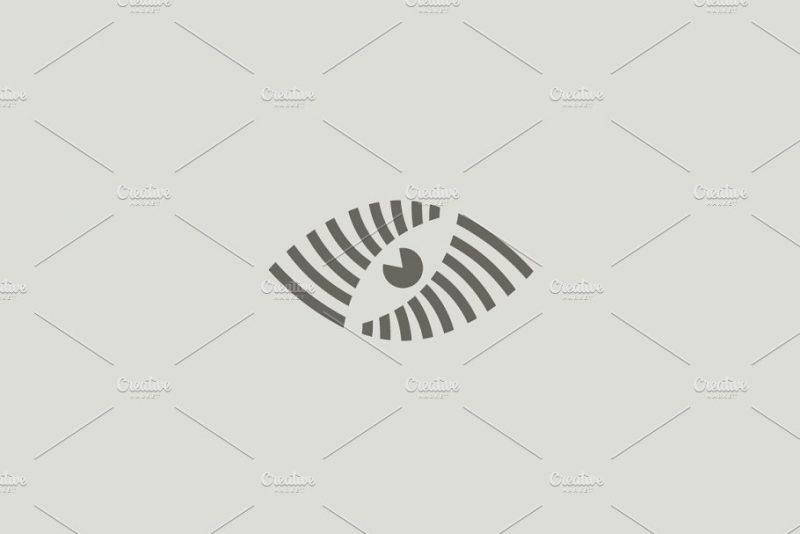 Abstract Eye Logotype