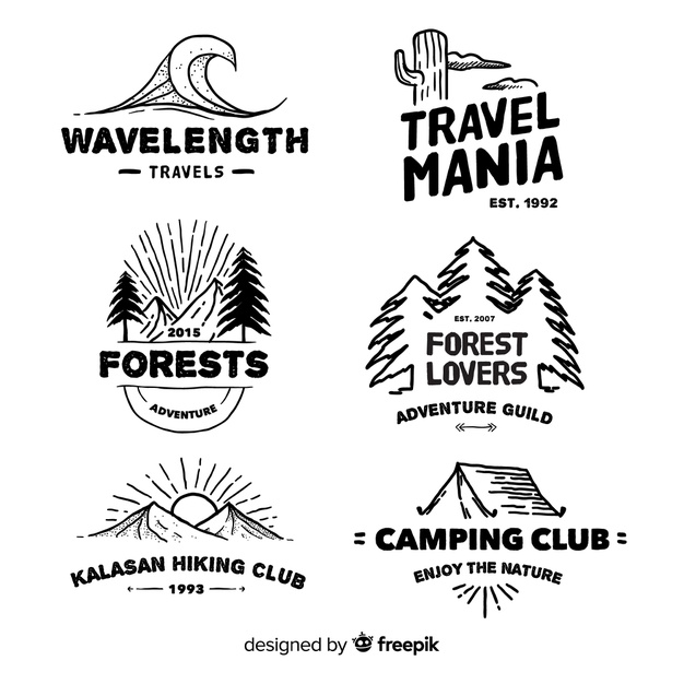 Adventure Logo Branding Design