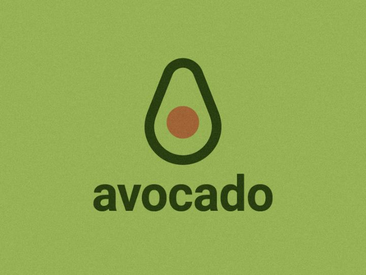 Avocado Logo Design Example