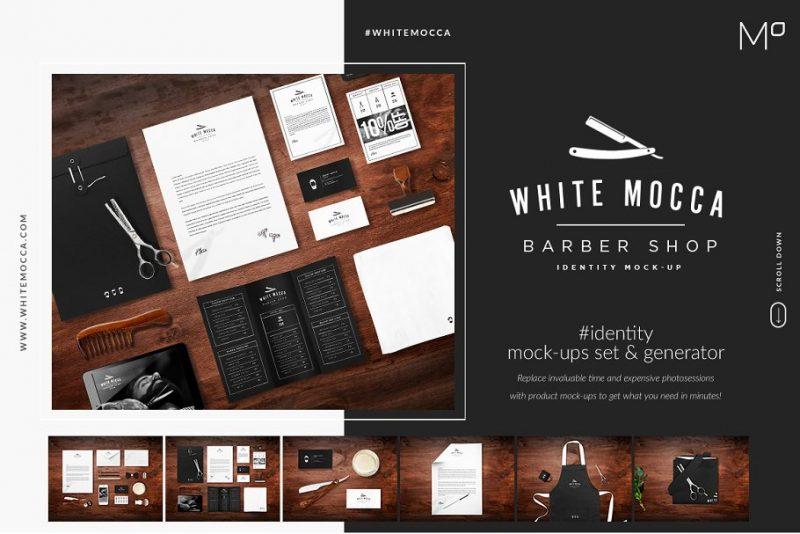Barber Branding PSD Templates