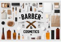 Barber Shop Branding Mockup