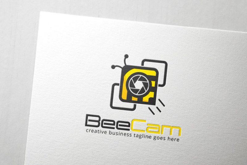 Bee Camera Logo Template