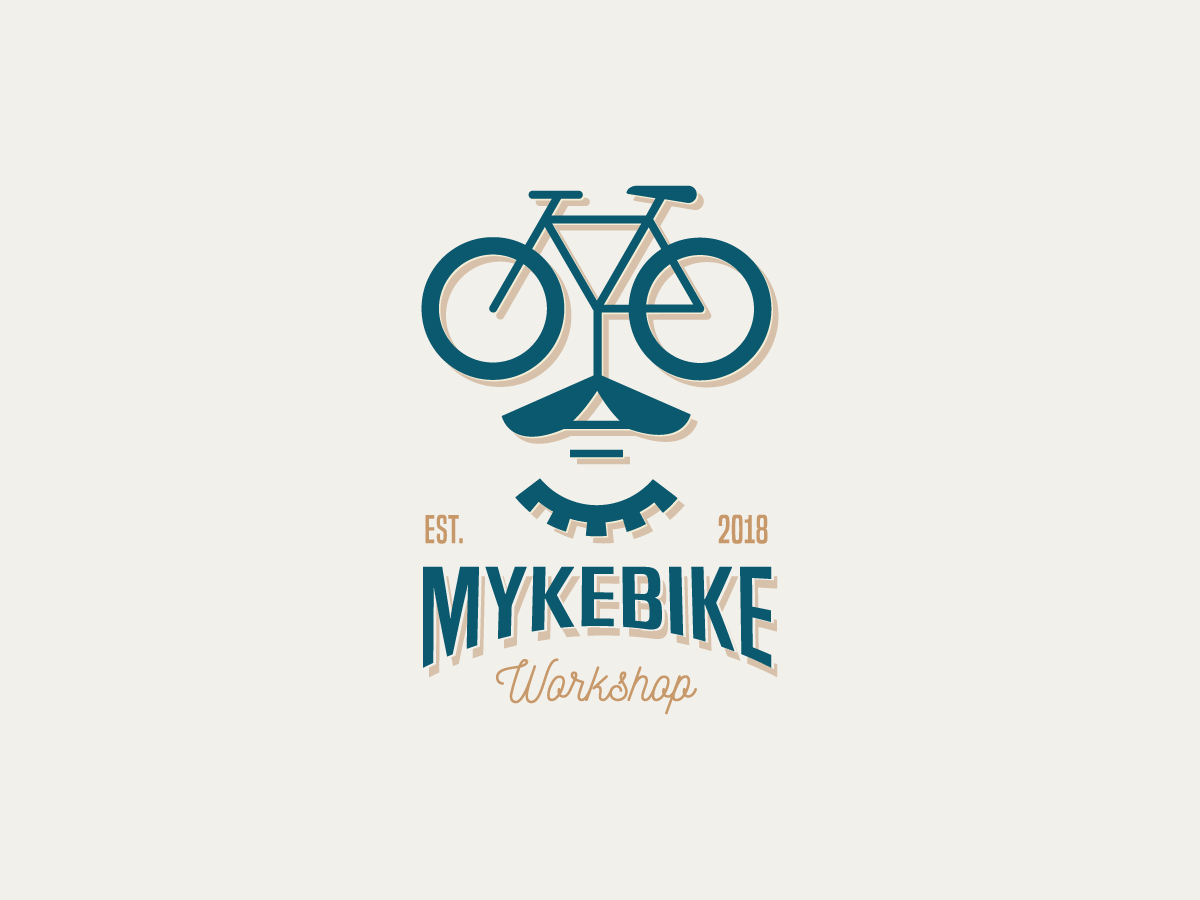 Bicycle Workshop Logo Design