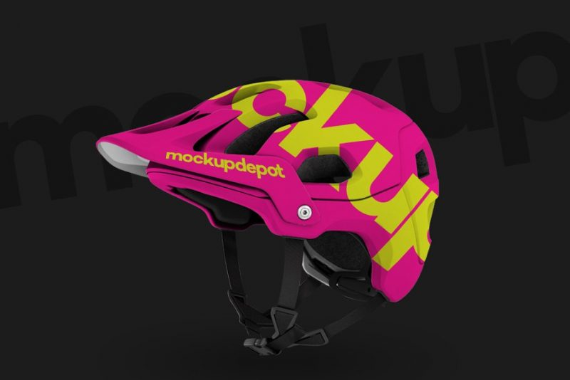 Bike Helmets PSD