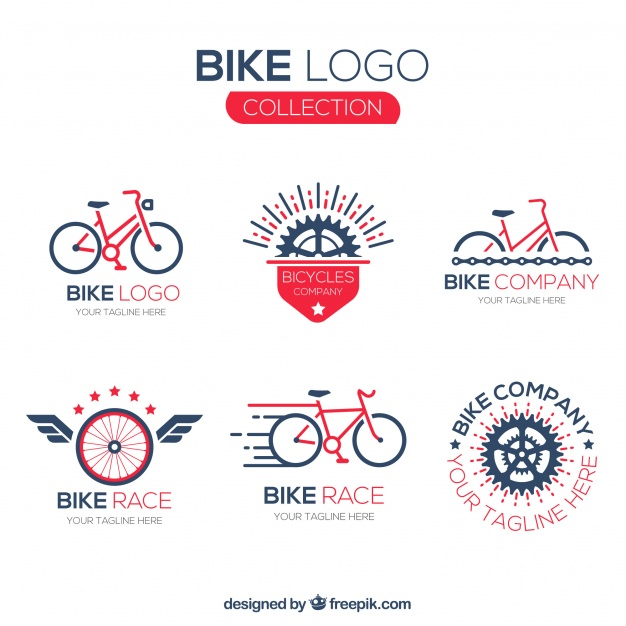 Bike Logo Collection Set