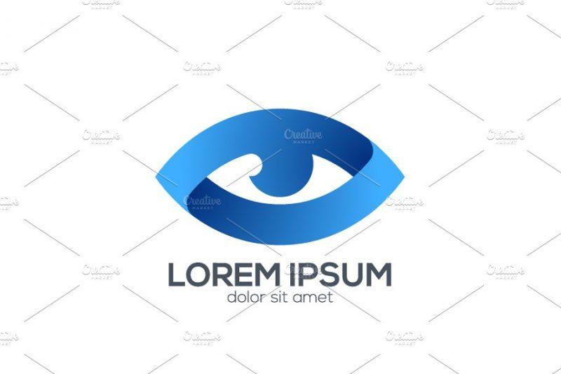 Blue Eyes Logo Sample