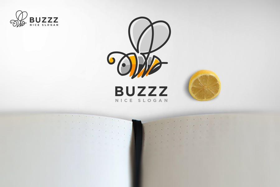 Buzz Bee Logo Design