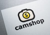 Camera Shop Logo Design