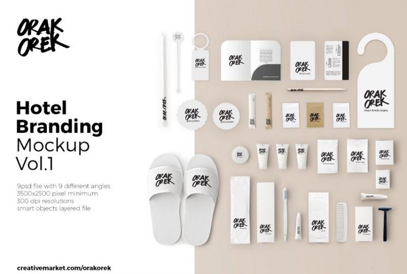 Complete Hotel Branding Mockup