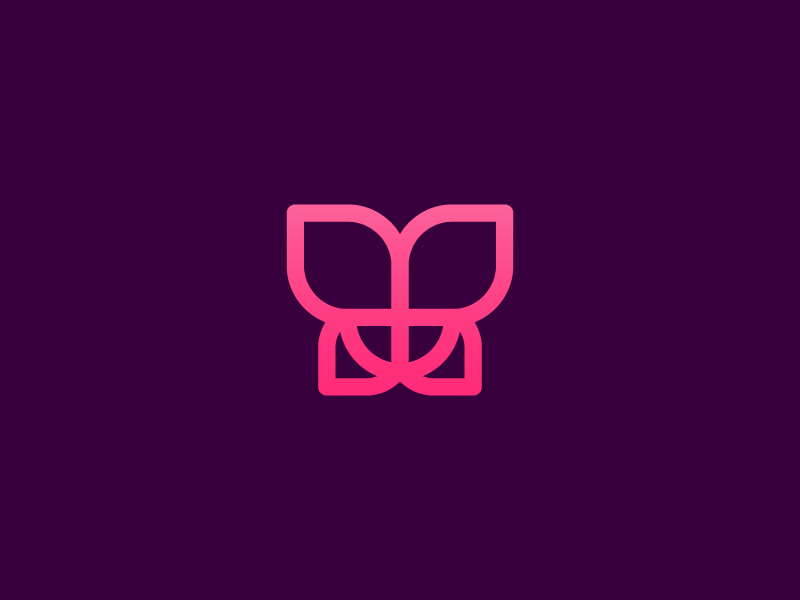 Creative Butterfly Logo Mark