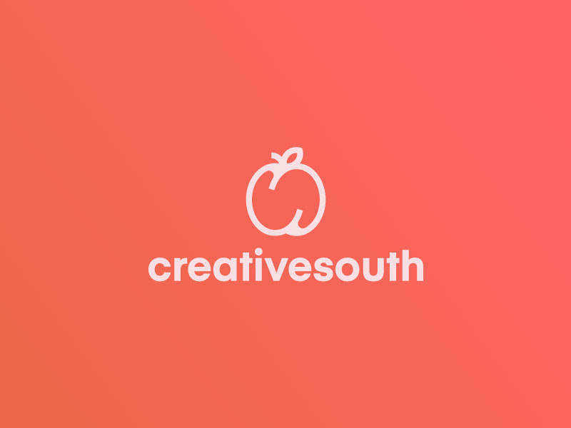Creative Fruit Logo Idea