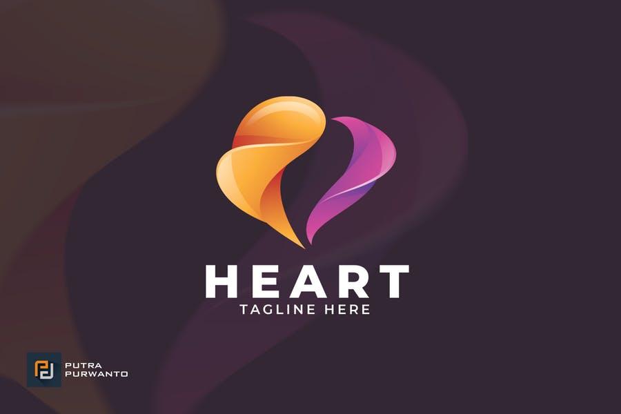 Creative Heart Logo Design
