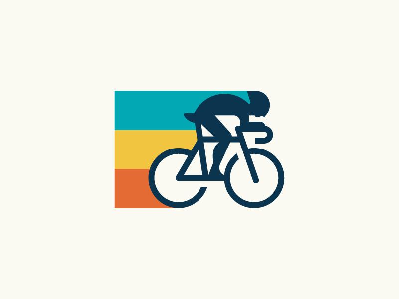 Cyclist Logo Branding Design