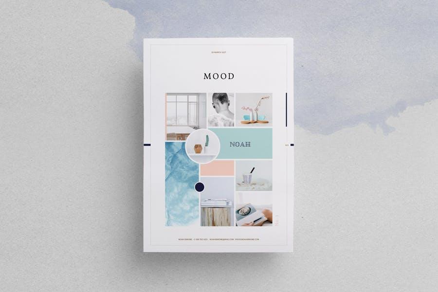 Design Mood Mockup PSD