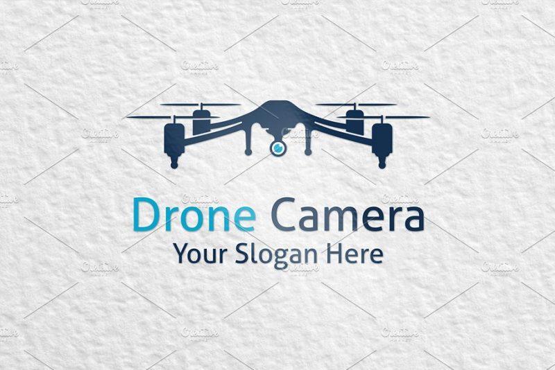 Drone Camera Logo Design