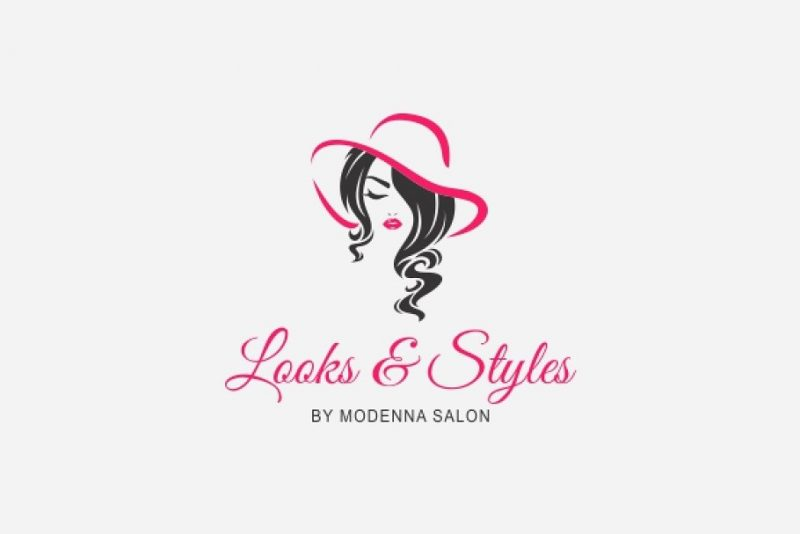Editable Salon Logo Design