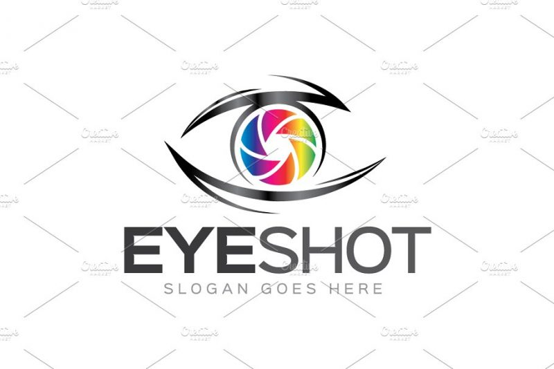 Eye Camera Branding Design