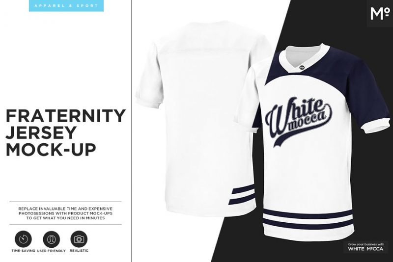 Fraternity Jersey Branding Template