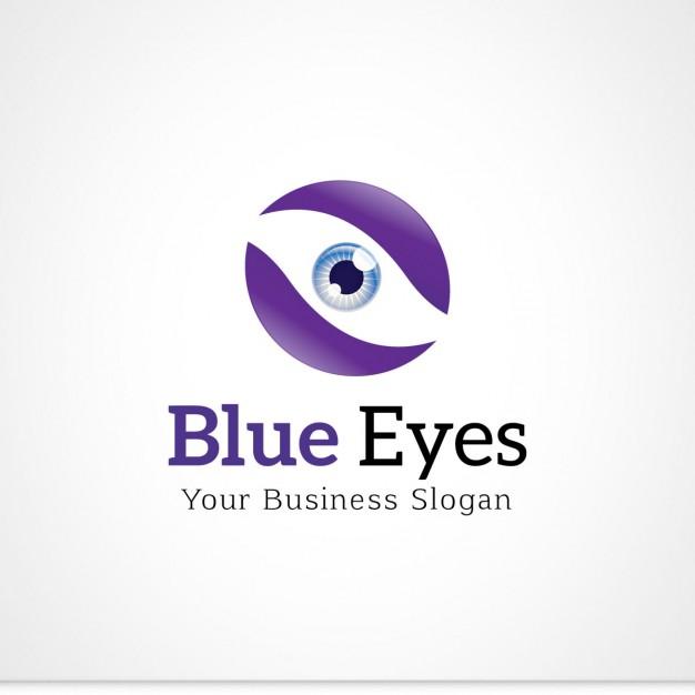 Free Blue Eyes Vector