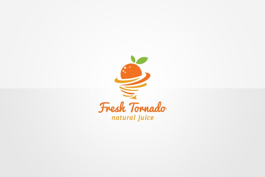 Fruit Juice Logo Idea