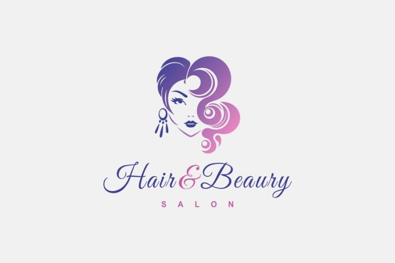 Hair and Beauty Logo Design