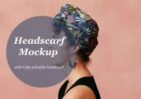 Headscarf Design Presentation PSD
