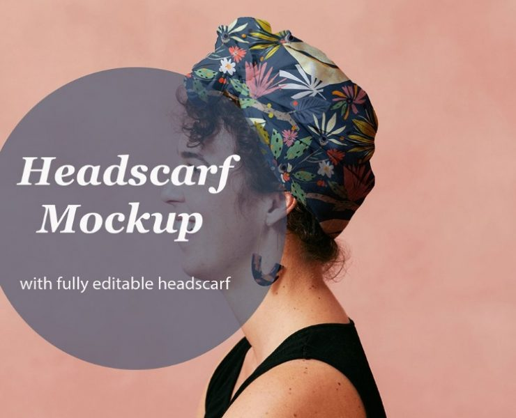 14 + Best Scarf Mockup PSD Download