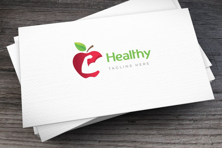 Healthy Food Logo Idea