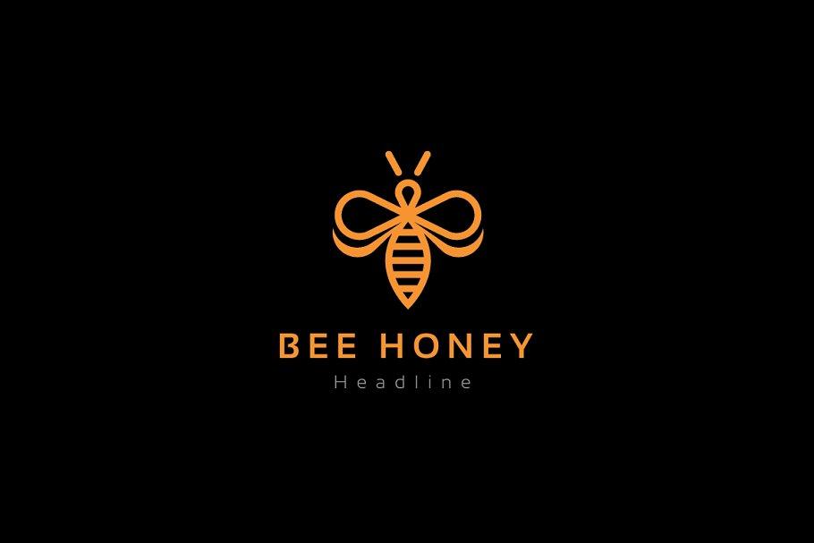 Honey Branding Design Logo