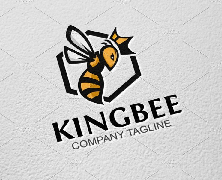 15+ Best Bee Logo Designs, Examples and Illustration