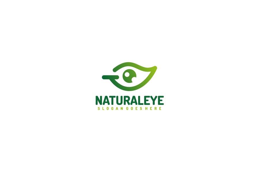 Leaf Eye Logo Design Branding